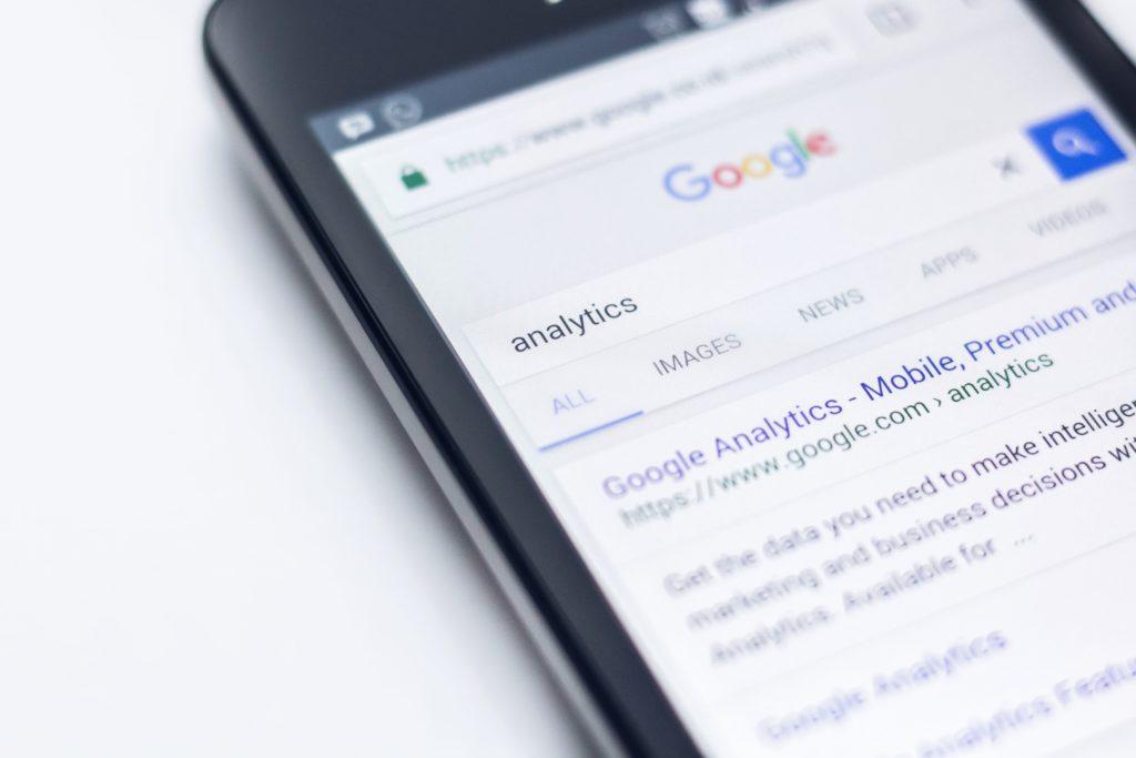 スマホを使ったGoogle検索
